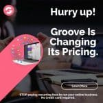 Groove Integrated Email Marketing CRM – Web Design/Sales Platform Launched